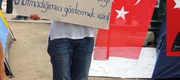 Gezi parks nepilnas 2h pirms iebrukuma (foto)