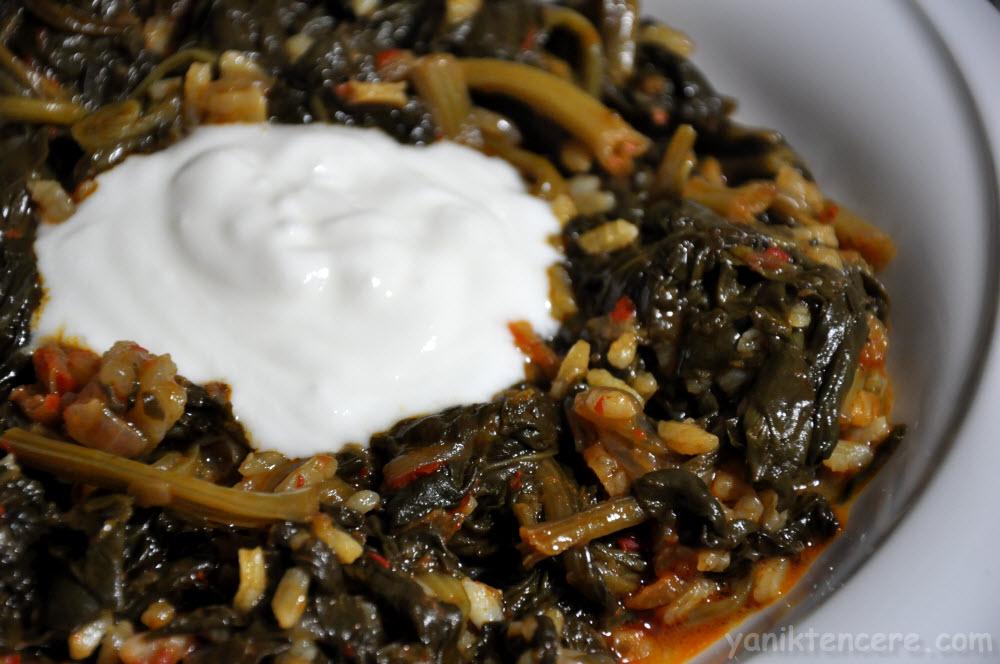 recepte: Spinātu sautējums
