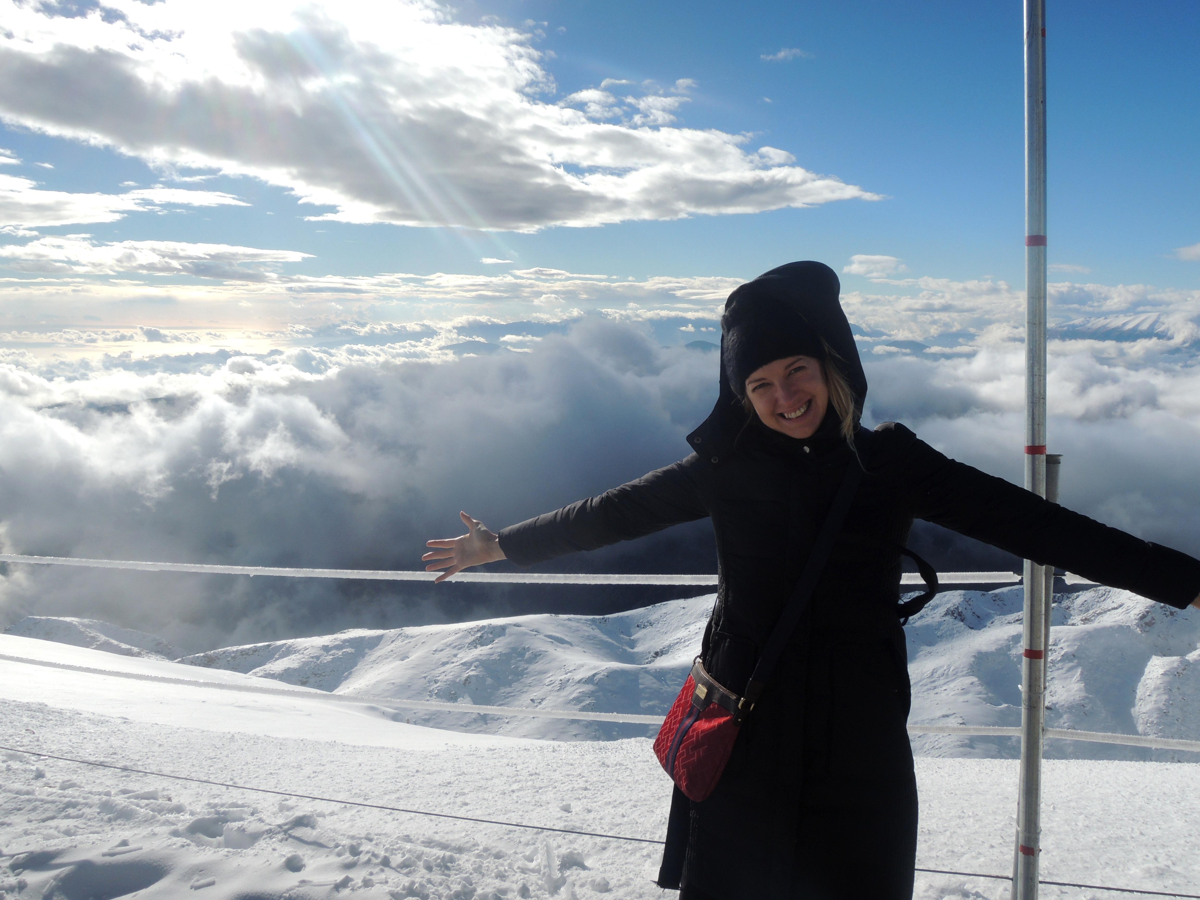 2365m virs mākoņiem/ Olympos kalns Kemerā (foto)