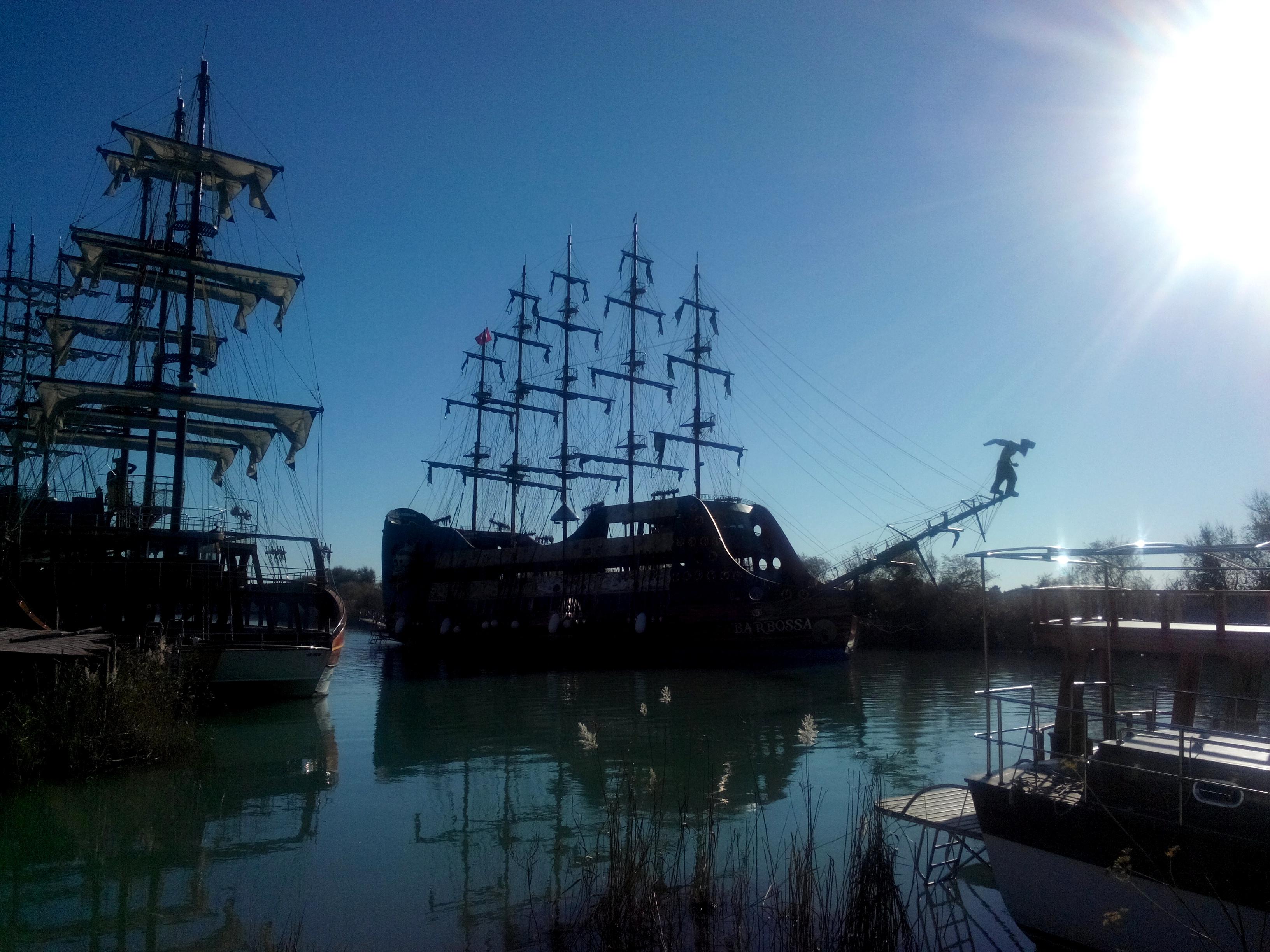 pēcpusdiena pirātu kuģbūvniecībā (foto)