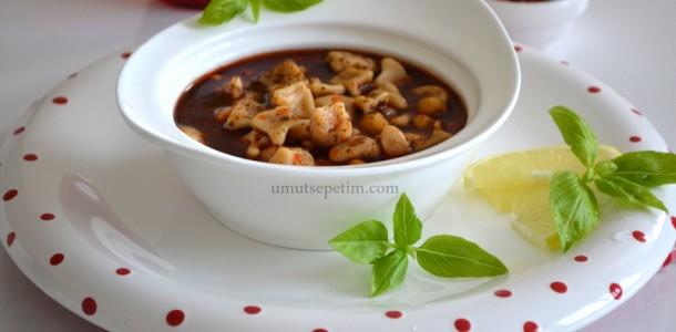 recepte: Pelmenīšu zupa