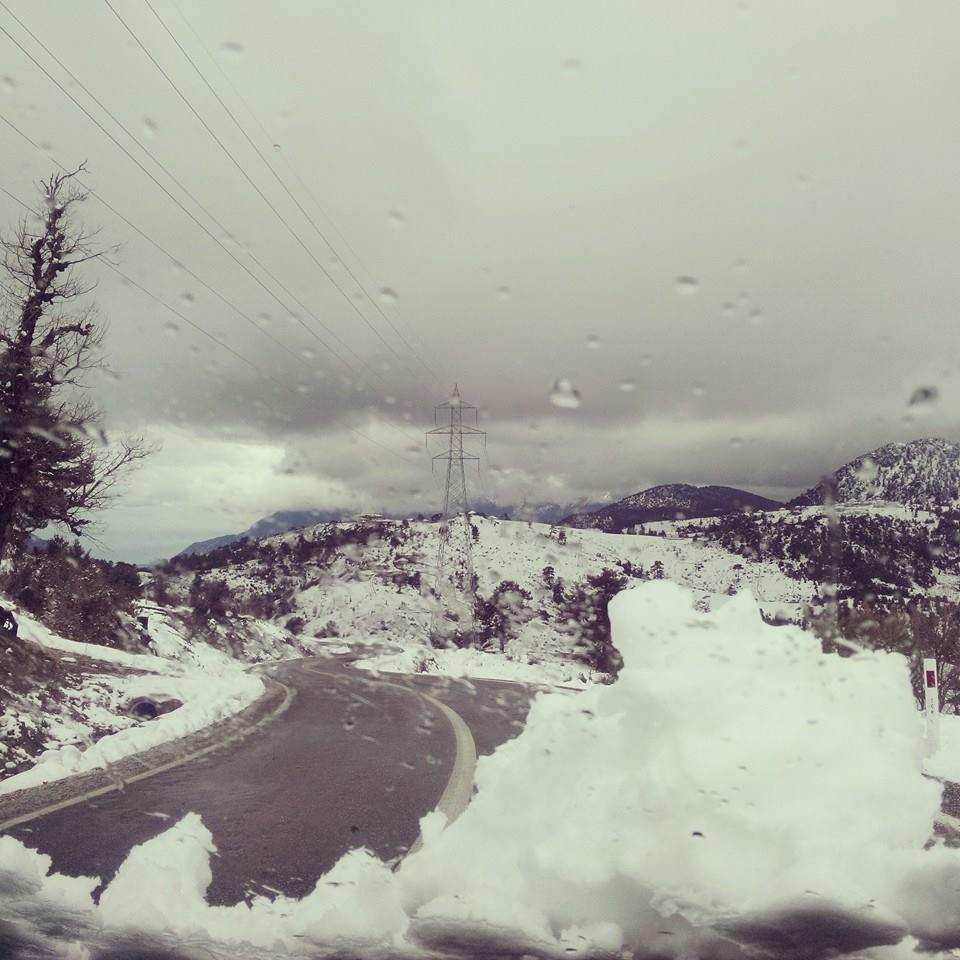 Antālija – Toros – sniegā (foto)